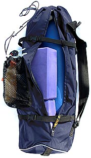 Navy   YOPA yoga backpack,  sports backpack,  pilates backpack.