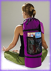 YOPA yoga Pilates crossover back pack.