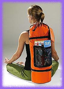 Pilates backpack, multipurpose backpack,  crossover backpack,  sport backpack   in several colors.